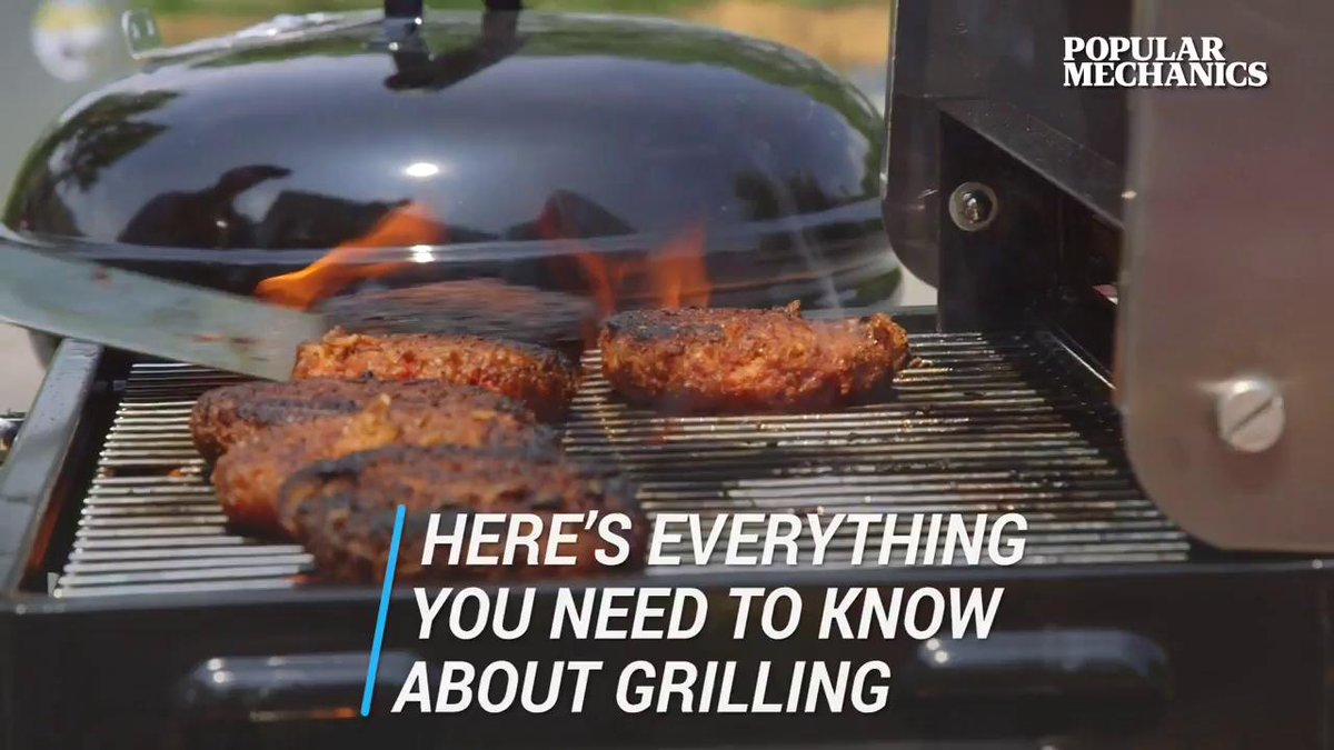 Image for the Tweet beginning: How to become a grill