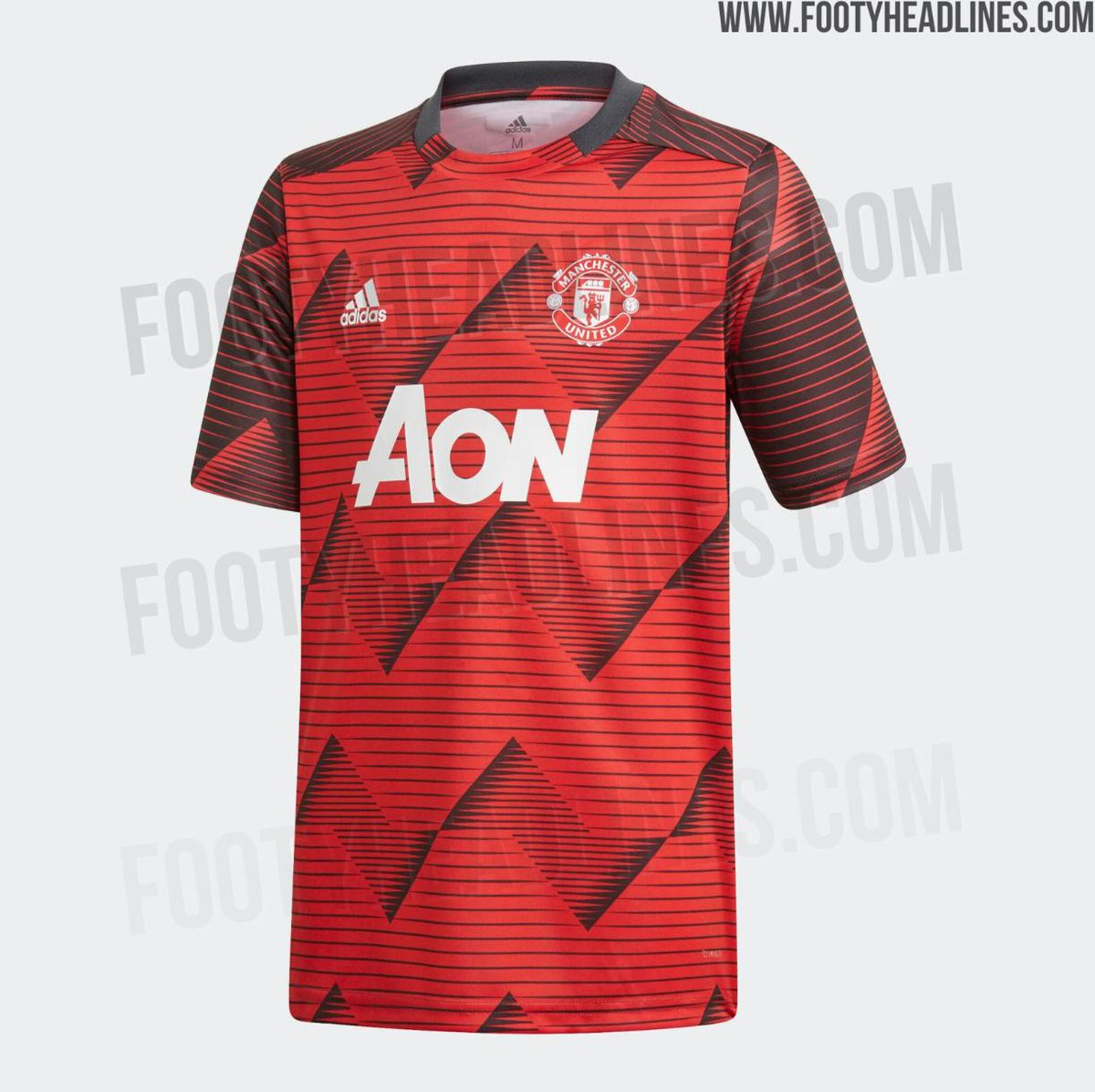 Photos: #mufc pre-match shirt to be worn for the second half of the 2019/20 season #mulive [ http:// footyheadlines.com    ]<br>http://pic.twitter.com/36TOE567W0