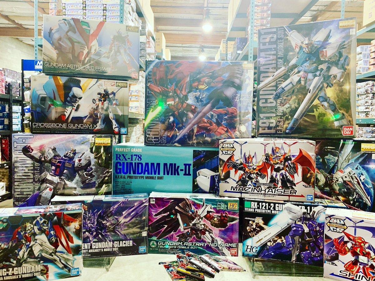 SDCC Weekend Sale, grab yourself some kits!\(≧▽≦)/ Don't miss out our weekend sale! We have amazing deals!  https://bit.ly/2SZYfX0  #newtype #teamnewtype #newtypehq #gundamnt1alex #gundambuilder #gunplabuilder #modelkit #gundam #gunpla #bandai #plamo #ガンダム #ガンプラ
