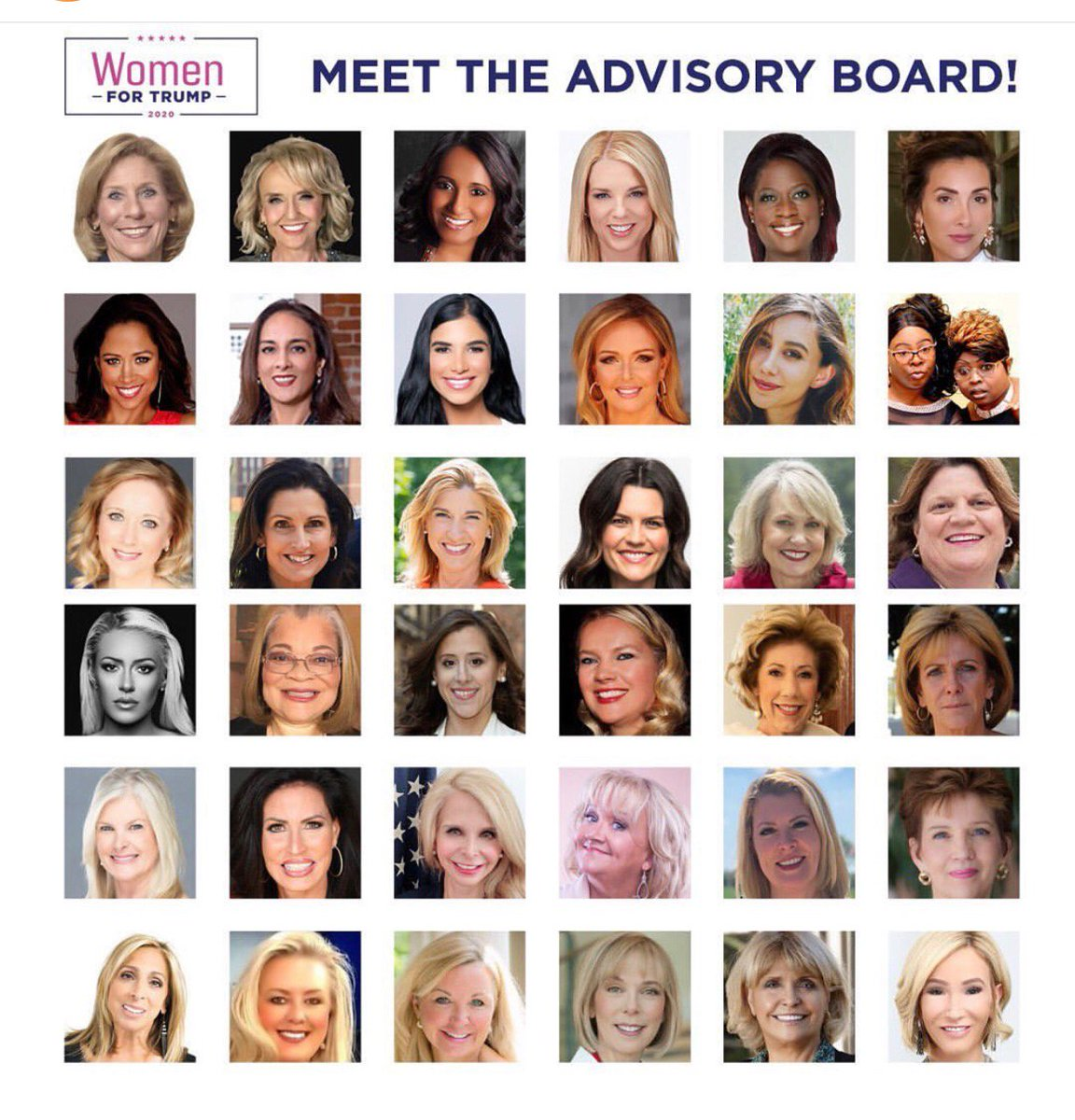 Meet 'The REAL Squad'.  We are #WomenForTrump.  Women stand with President @realDonaldTrump and nothing will stop @TeamTrump from winning again.  And Democrats can NEVER tell us otherwise.  Sign up to help us here》http://Women.DonaldJTrump.com