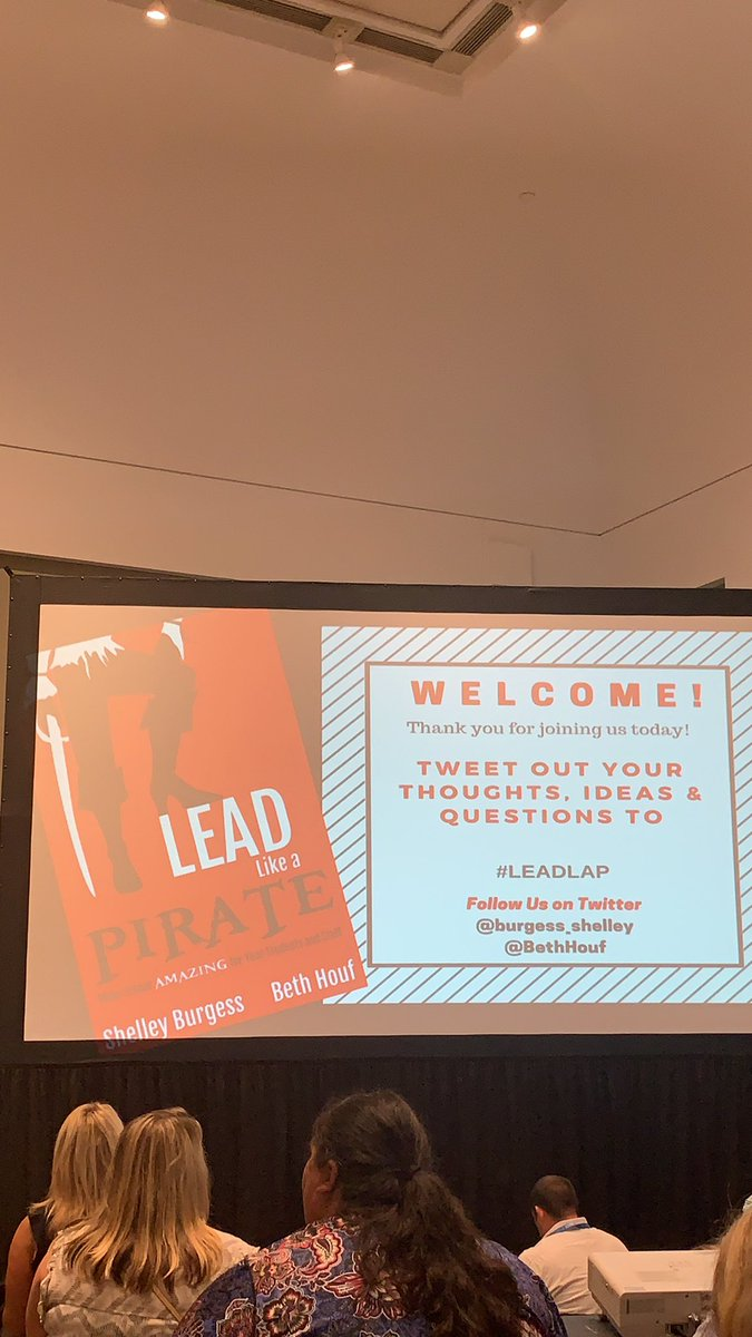 Last session of the day with @BethHouf #leadlap #NPC19 excited to learn even more!