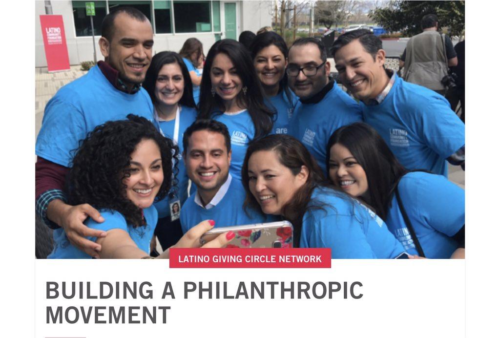Start a movement in your community!! #latinocommunityfoundation #philanthropy #ChangeTheGame