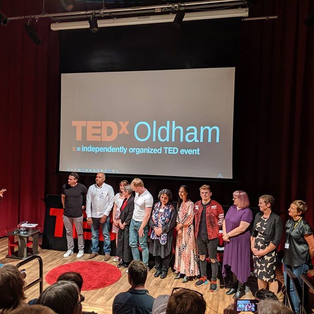 Fantastic speakers ! #craigsdailyadventure #playthegame #tedxoldham #ted #creative #instagood #instaoftheday https://ift.tt/2GjBR3u