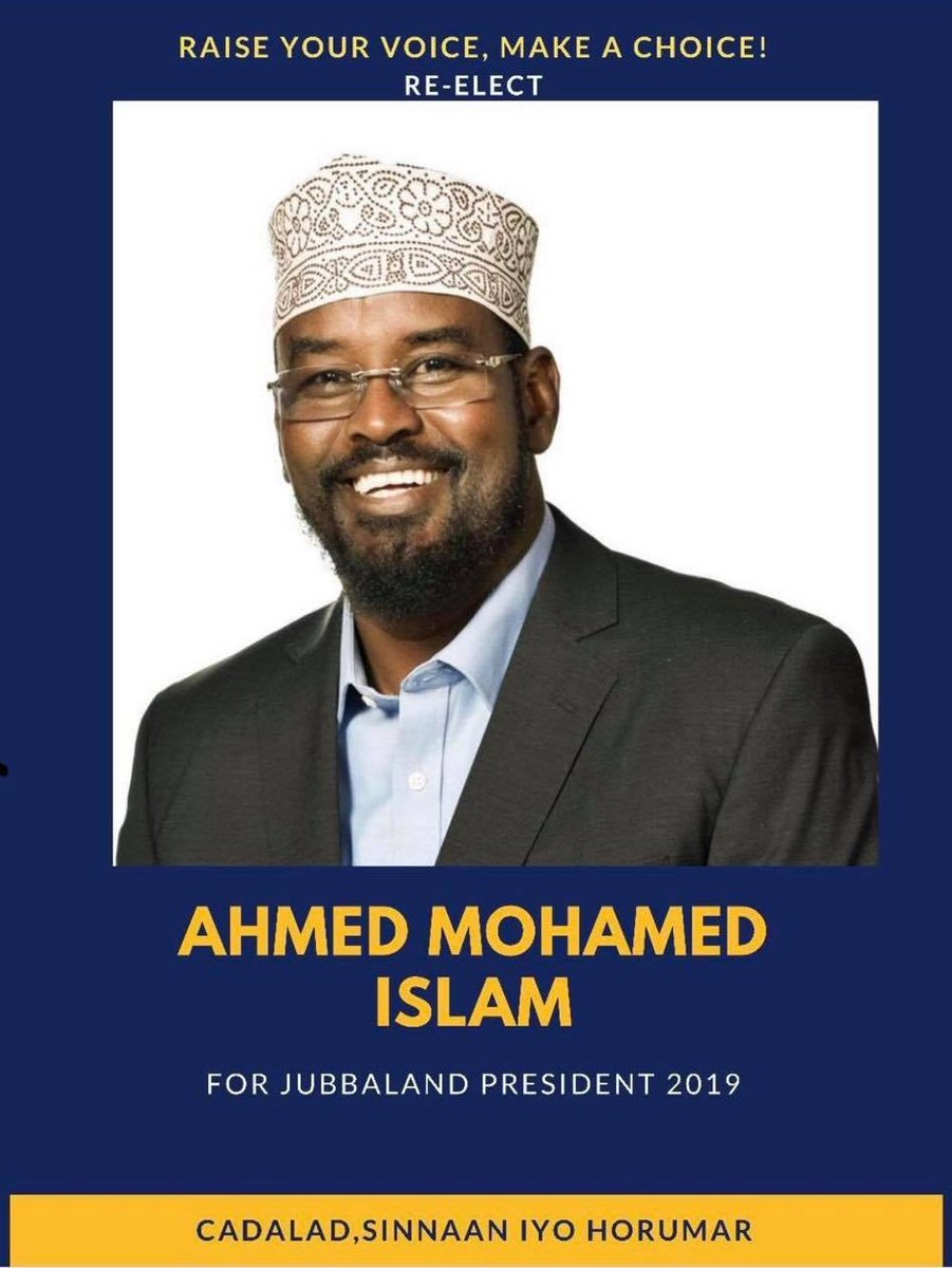Traitor Ahmed Madoobe is a well-known puppet used by Kenya for their evil agenda to annex Jubbaland.  He and the Kenyan invaders will fail one way or another.  #Somalia #Kenya #Mogadishu #Nairobi #Jubbaland