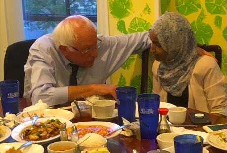She has stood solidly with @SenSanders and he stands with her. Let's support them both! @IlhanMN #Bernie2020. That's what America can be! @johncusack