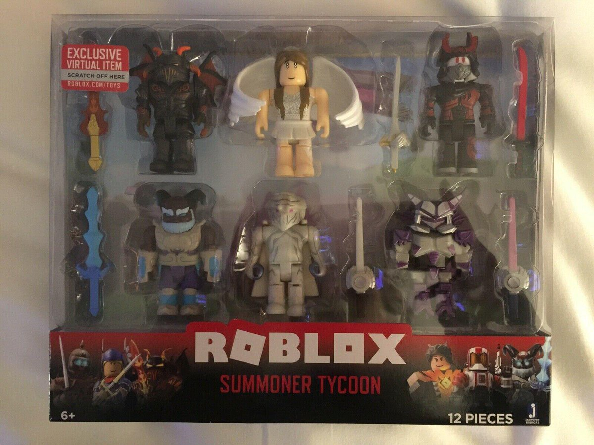 So uhhh a lot of the new Roblox Toys are available for early