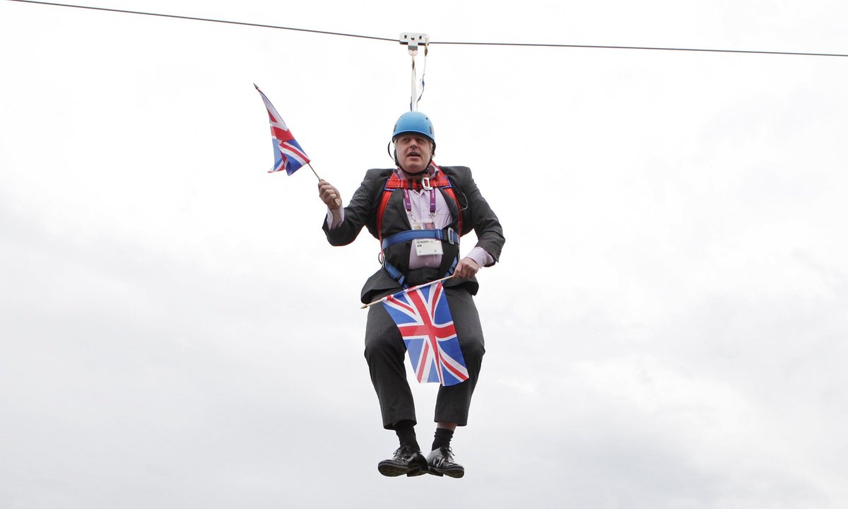 Reports of a British-flagged oil tanker seized in the Strait of Hormuz near Iran. And guess what folks, we'll have this man as our Prime Minister next week.