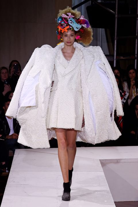 Comme des garçons is truly one iconic designer with its many looks that celebs have worn from red carpets or everyday wear, they are well known all across the globe and when it comes to Avant-garde they truly know how to make a statement. #CommeDesGarcons #Fashion @COMMEGARCONS