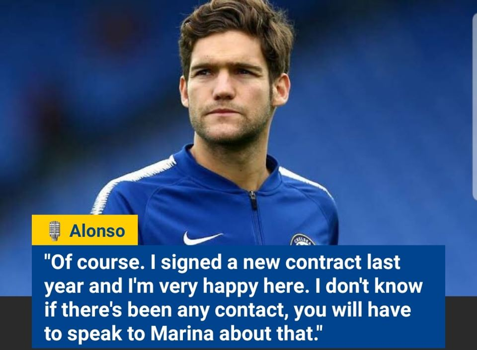 💬 #Alonso on his #Chelsea's future 🔵