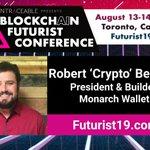 Image for the Tweet beginning: 📢Speaker Announcement 📢 @RobertBeadles of @Monarchtoken