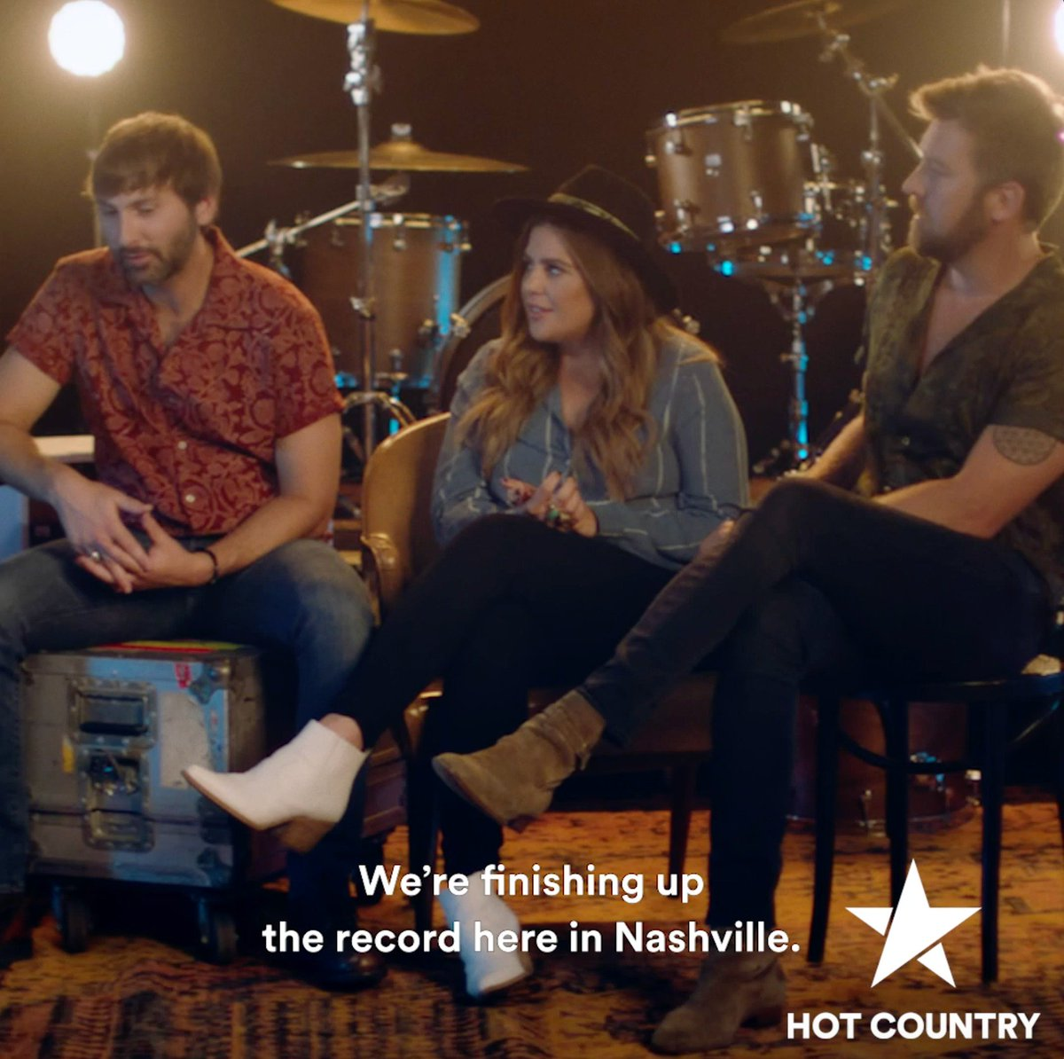 Who's ready for @ladyantebellum's new album? 🙋♂️ Get an inside look at the making of the album on #HotCountry now https://spoti.fi/2M4vzID