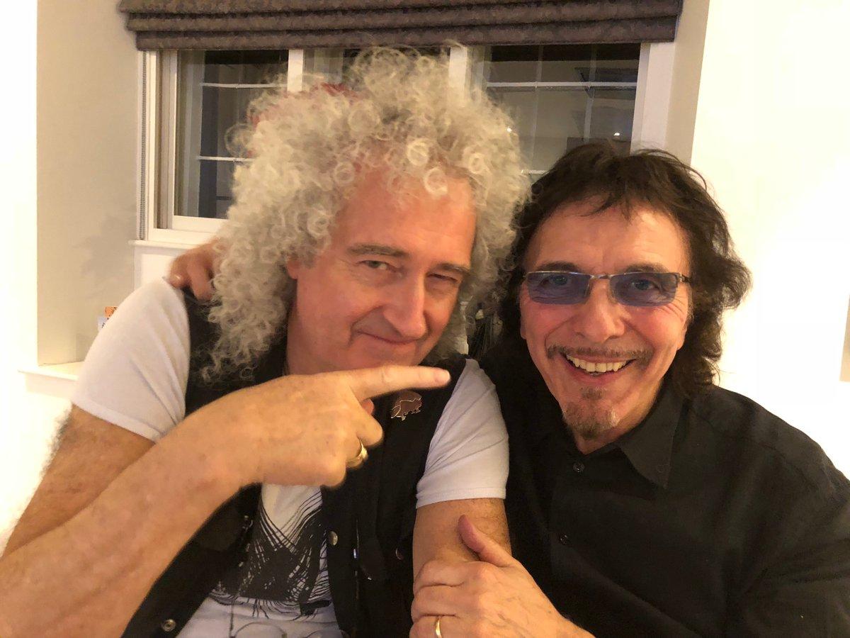 "Tony Iommi on Twitter: ""Happy Birthday to my dear old pal Brian ..."