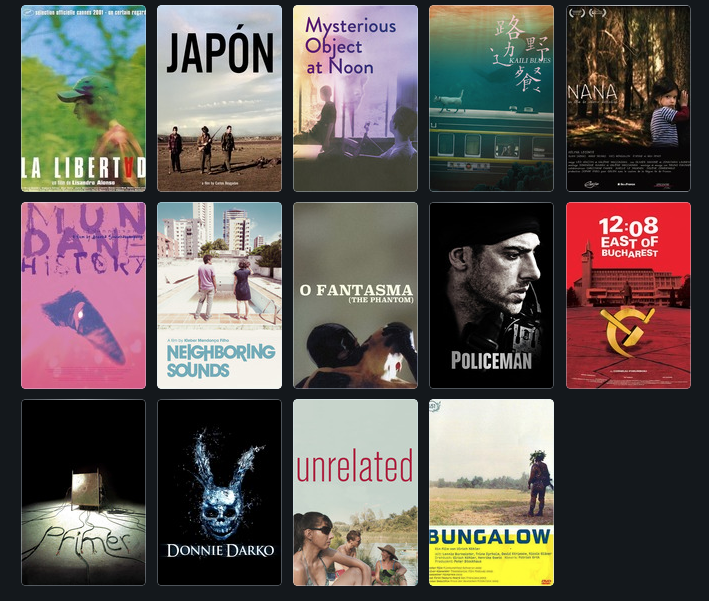 Join us through July 31 for the best first features of the new millennium thus far and follow along with our @letterboxd list: boxd.it/3GYHw