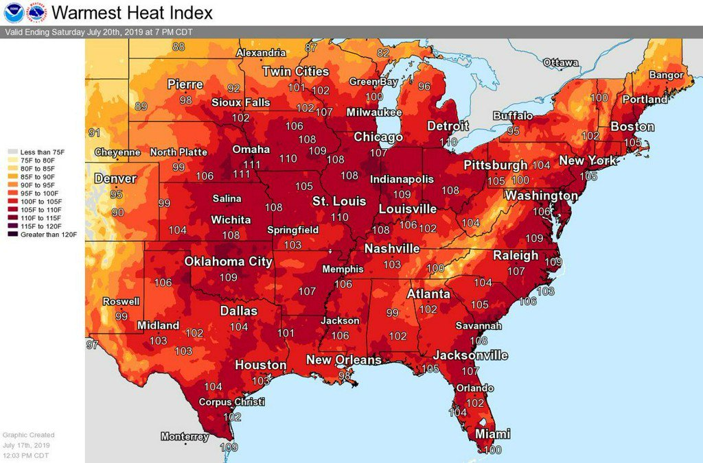 Call it the Trump heat wave: The current scorcher is just a taste of what's coming https://thinkprogress.org/call-it-the-trump-heat-wave-the-current-scorcher-is-just-a-taste-of-whats-coming-8fa8f1ad6f0f/?utm_campaign=trueAnthem%3A+Trending+Content&utm_content=5d31d418eb25fa0001be6e92&utm_medium=trueAnthem&utm_source=twitter…