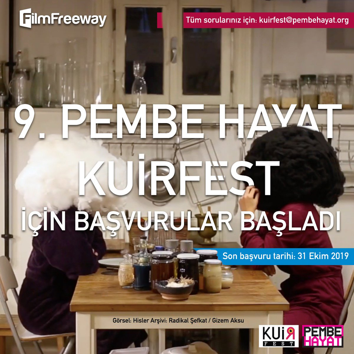 37aa0af233e Festivale FilmFreeway üzerinden yapılacak başvurular için son tarih 31 Ekim  2019. ...