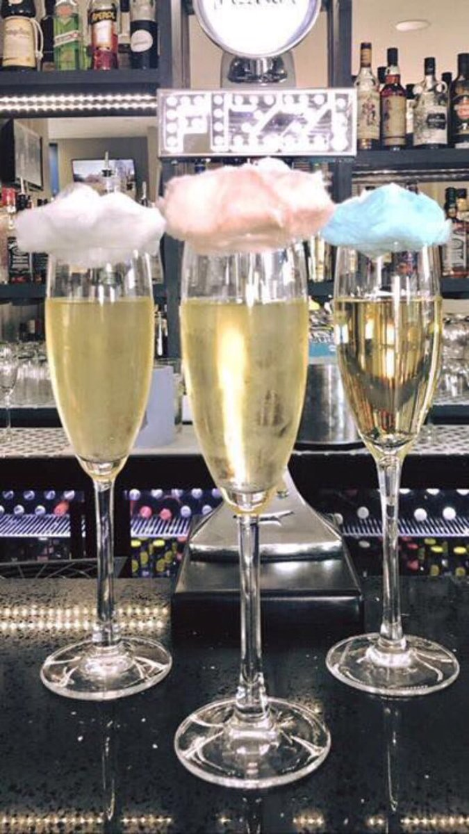 It's Friday lovely people so that means our #famous #candyfloss #prosecco is just £4 a glass! #fridayfeeling #wdyt #bluebamboo #gloucester #drinks