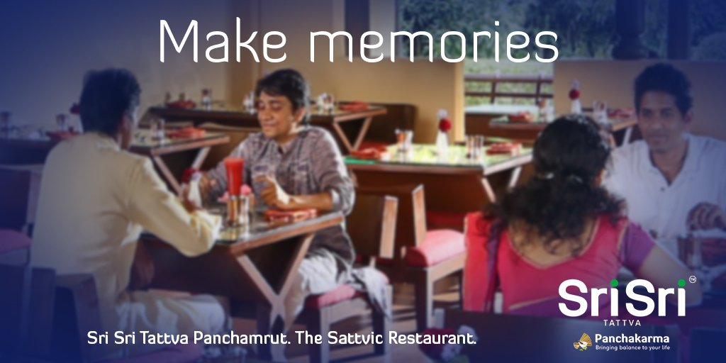 Where to make #everlastingmemories? Somewhere special... Where is that? PANCHAMRUT, where else?! Bring your near and dear ones for a special treat at our satvic restaurant. So, what are you waiting for? Book now on +91 9886 123 423  #satvic #Panchamrut #restaurant #BLR #Bangalore