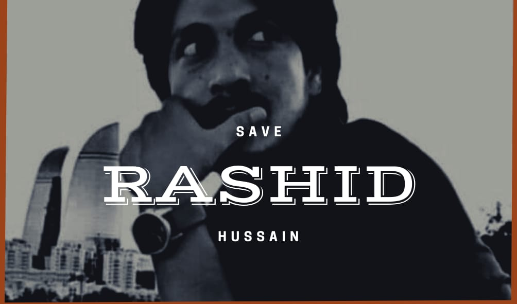 A peaceful campaign has started now for #SaveRashidHussain from #Pakistani custody I appeal to all raise their voices against the illegal deportation of Rashid to #Pakistan & why #UAE government has showing fierce loyalty for #Pakistan & showing animosity against #Baloch? @uaegov