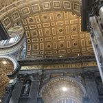 Image for the Tweet beginning: Breathtaking beauty inside St Peter's