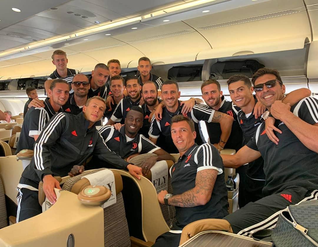 Gonzalo Higuaín se sumó a la gira de Juventus por Asia