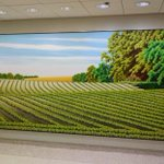"""For #NationalPennsylvaniaDay, check out the 1980 painting """"First Day of Summer"""" by Roger Laux Nelson, commissioned by GSA's Art in Architecture Program for the Federal Building & U.S. Courthouse in Williamsport, PA: https://t.co/khUxOOQR41"""