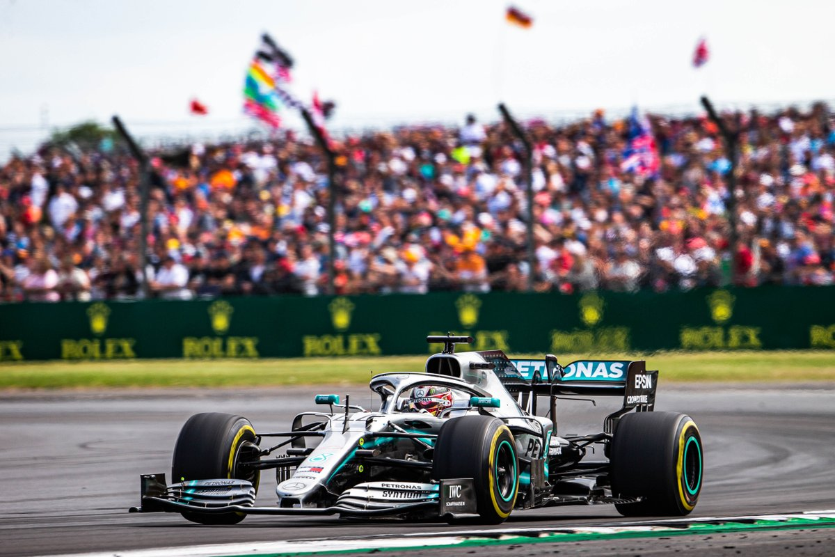 Silverstone + @LewisHamilton  ❤️  Name a more iconic duo, we'll wait