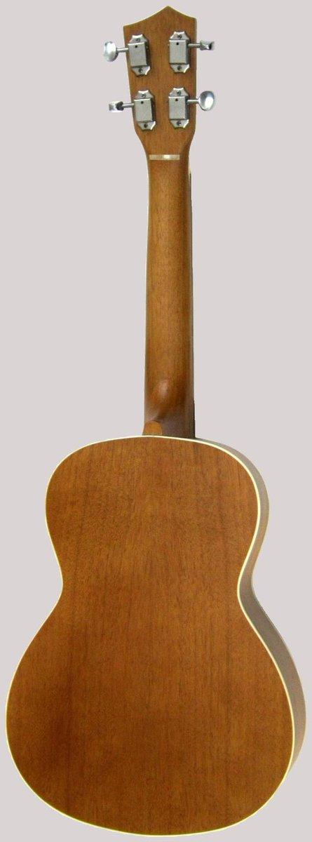 solid mahogany ukulele tenor back