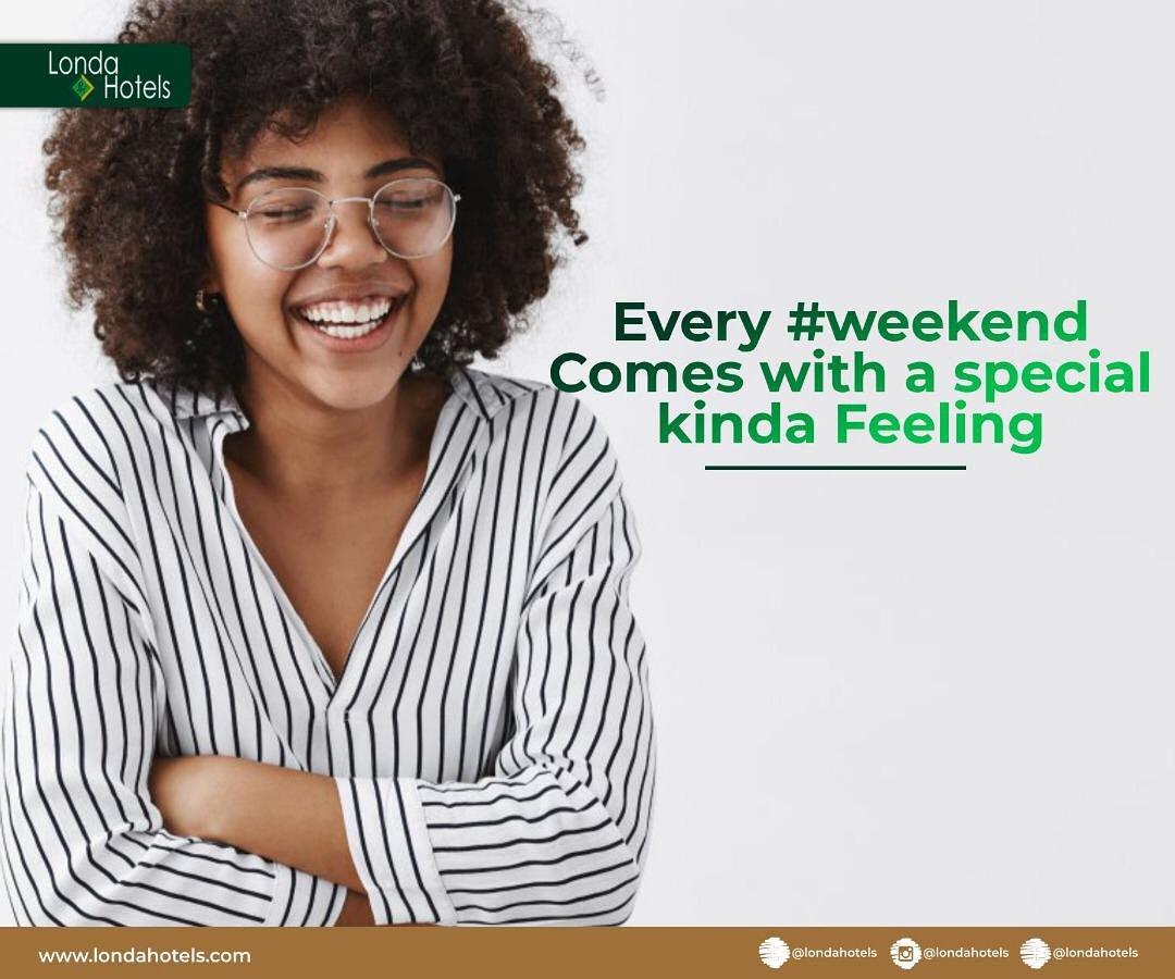Don't break that smile, Happy weekend. . . . #hotel #beourguest #londahotel #bbn #9ja #friday #happiness #tgif #viral #drinks #weekend #hotel #hotelng #portharcourt #riversstate #idontlikewhatihate #picoftheday #travel #party #bbnaija #bbnaijapepperdem