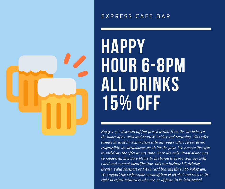 Will you be joining us for Happy Hour today? #HappyHour #TGIF #Friyay #Drinks