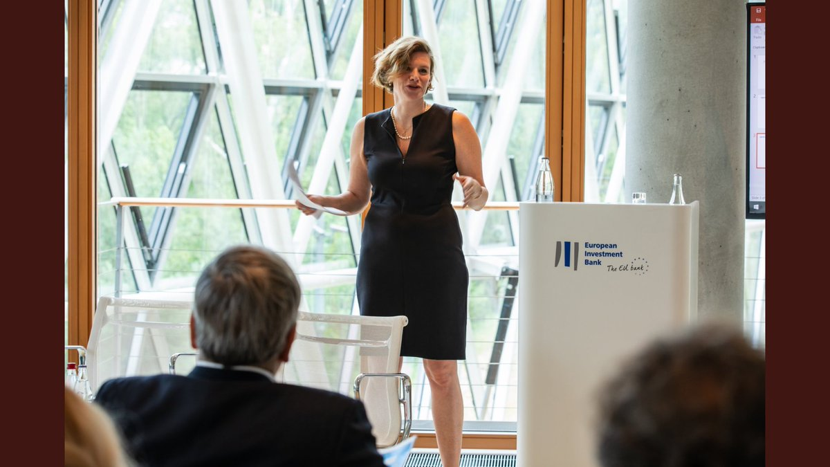 test Twitter Media - Thank you @EIB for inviting me to give keynote to national investment banks, on their potential catalytic role for European investment in cross-sectoral financing of mission projects (from plastic free oceans to carbon neutral cities).  Risk taking for public purpose. https://t.co/4hlUFQeHvO