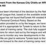 Image for the Tweet beginning: The #Chiefs make their statement,