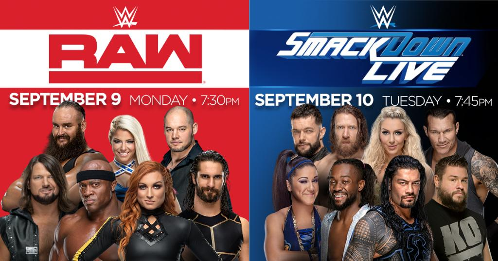 Tickets are ON SALE now for @WWE Monday Night RAW and Smackdown Live at The Garden on September 9 & 10: http://go.msg.com/WWE2019
