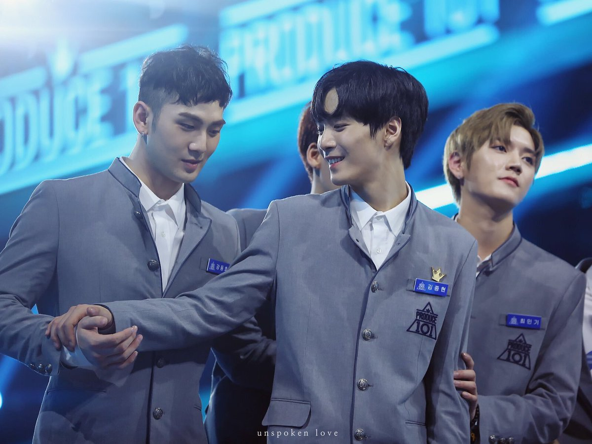 THE MOST HEARTBREAK MOMENT IN PRODUCE  PRODUCE SEASON 2 : MINHYUN DEBUT AND JONGHYUN, BAEKHO AND REN SMILE HAPPY FOR HIM  PRODUCE X101 : WOOSEOK DEBUT AND JINHYUK NOT REDEBUT.. BLESSING BCS NUEST NOW ONE OF BIG KOREA BG, I HOPE FOR UP1OTION TOO  #PRODUCE101_X_101 #PRODUCEX101<br>http://pic.twitter.com/JBuE2jMGqF
