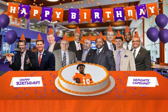 thanks for the birthday wishes @CoachToddBates #Clemson <br>http://pic.twitter.com/0dHfyo8sDd