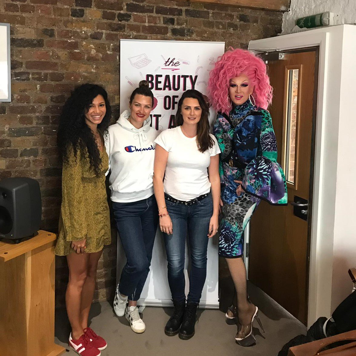 Our Beauty of it All podcast episode 6 is out...'Makeup is not a drag'. Go check it out now! #podcast #beauty #drag #joinus