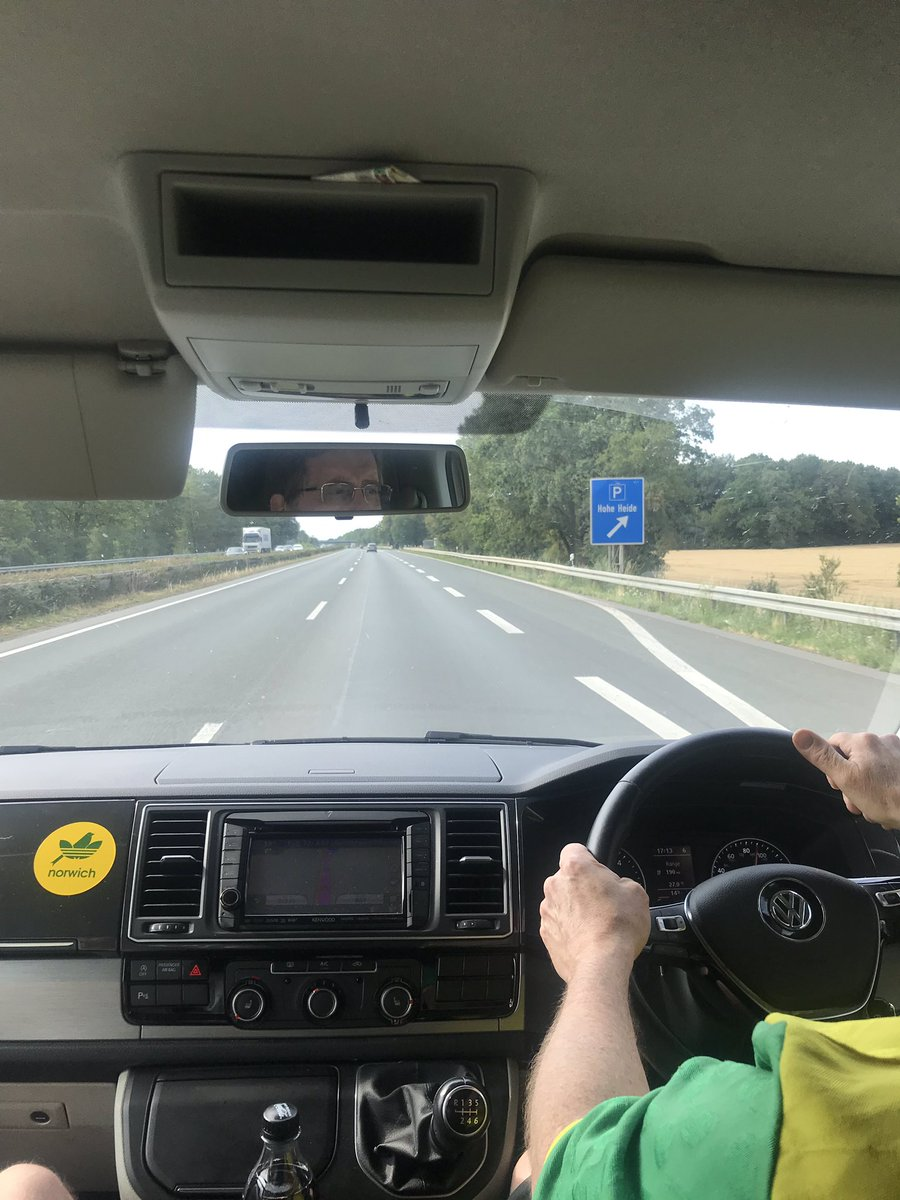 That's more like it... 95 MPH in the slow lane! #ncfc #cityontour<br>http://pic.twitter.com/carY0Ya4mq