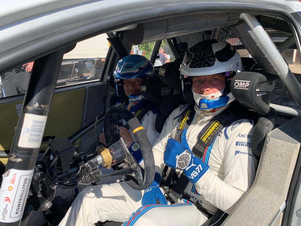 It seems that @ValtteriBottas is having fun with friends in Finland this sunny summer day. 😎☀️🚗💨  #Just4Fun #KeepingTheDayJob #ValtteriBottas #TOYOTA #YarisWRC #WRC #Rallying #F1 #Bottas #Finland #TGR_WRC #ToyotaGAZOORacing