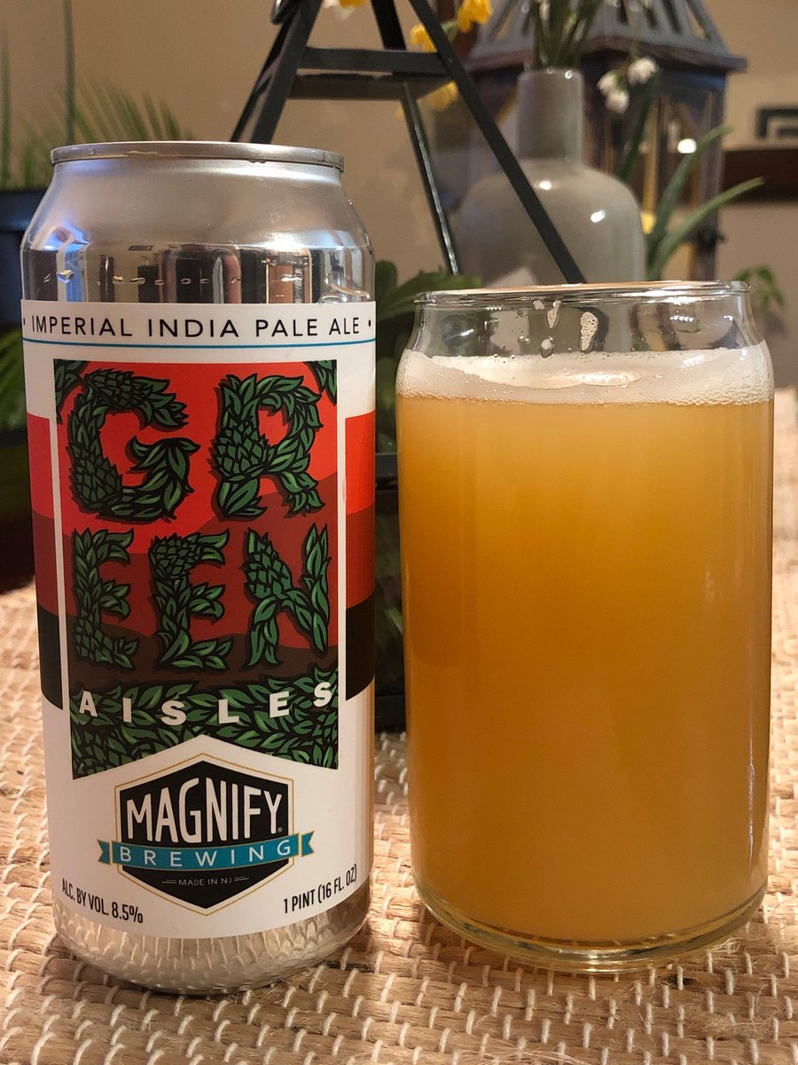 @MagnifyBrewing 's Green Aisles Imperial IPA scored @ClaytonLiquors