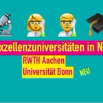 "Image for the Tweet beginning: Gratulation @UniBonn und @RWTH. ""Die"