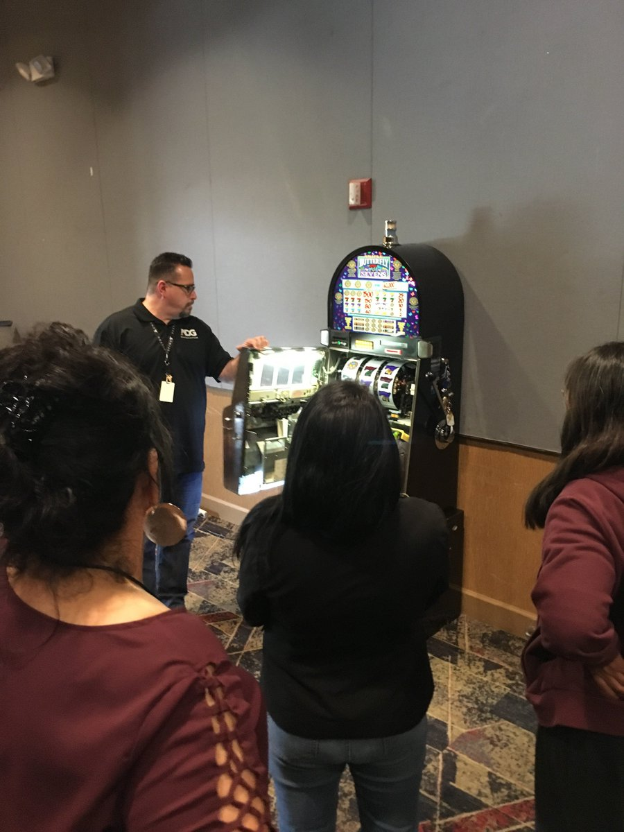 Hosted by the #WhiteMountainApacheTribe at @HonDahCasino, ADG provides gaming employees of 3 Arizona tribes with training about the basics of slots and other Arizona Tribal-State Gaming Compact topics as part of the Arizona Tribal Gaming Regulators Alliance quarterly training.