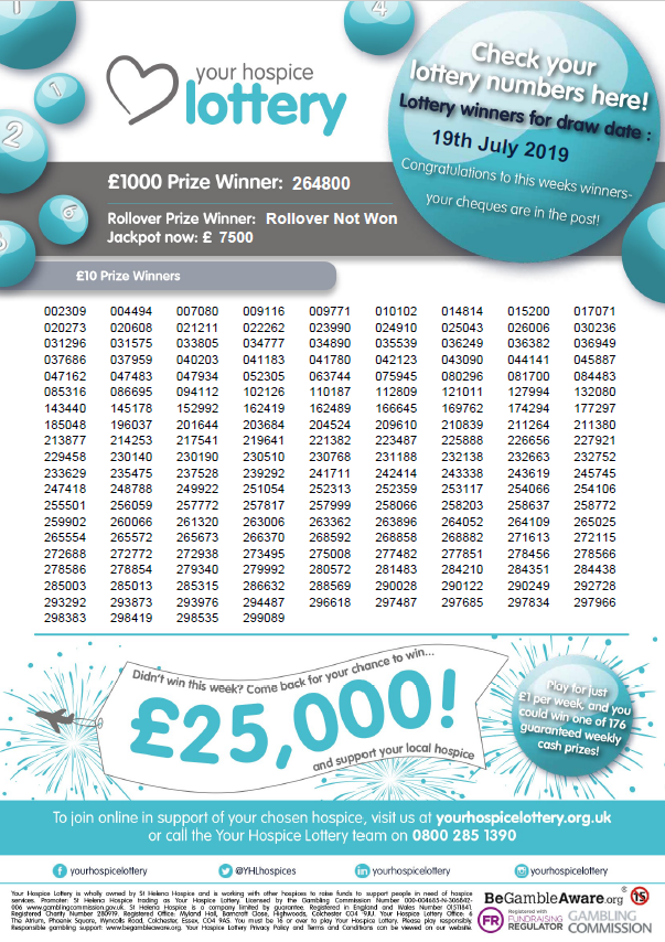 Your Hospice Lottery (@YHLhospices) | Twitter