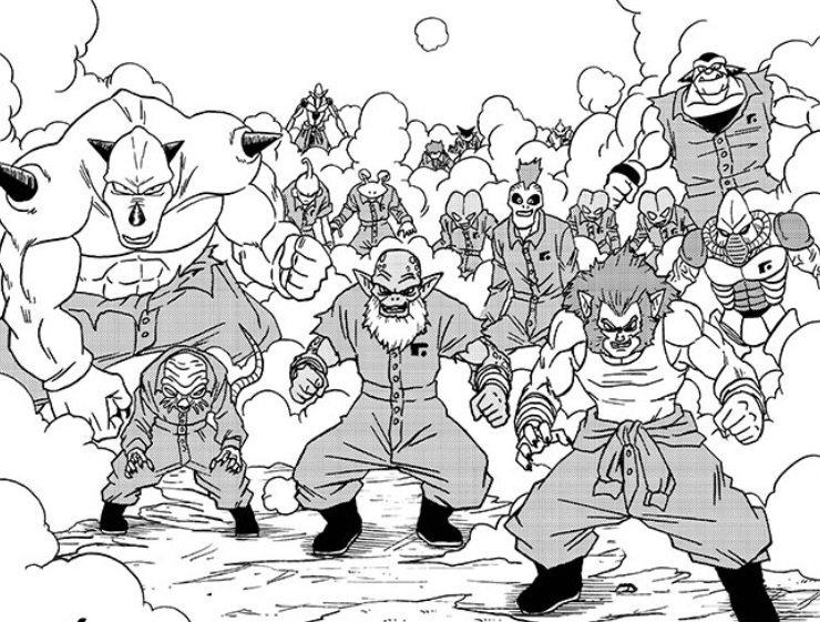 Caleb Cook Sdcc على تويتر Dragon Ball Super Chapter 50 Great