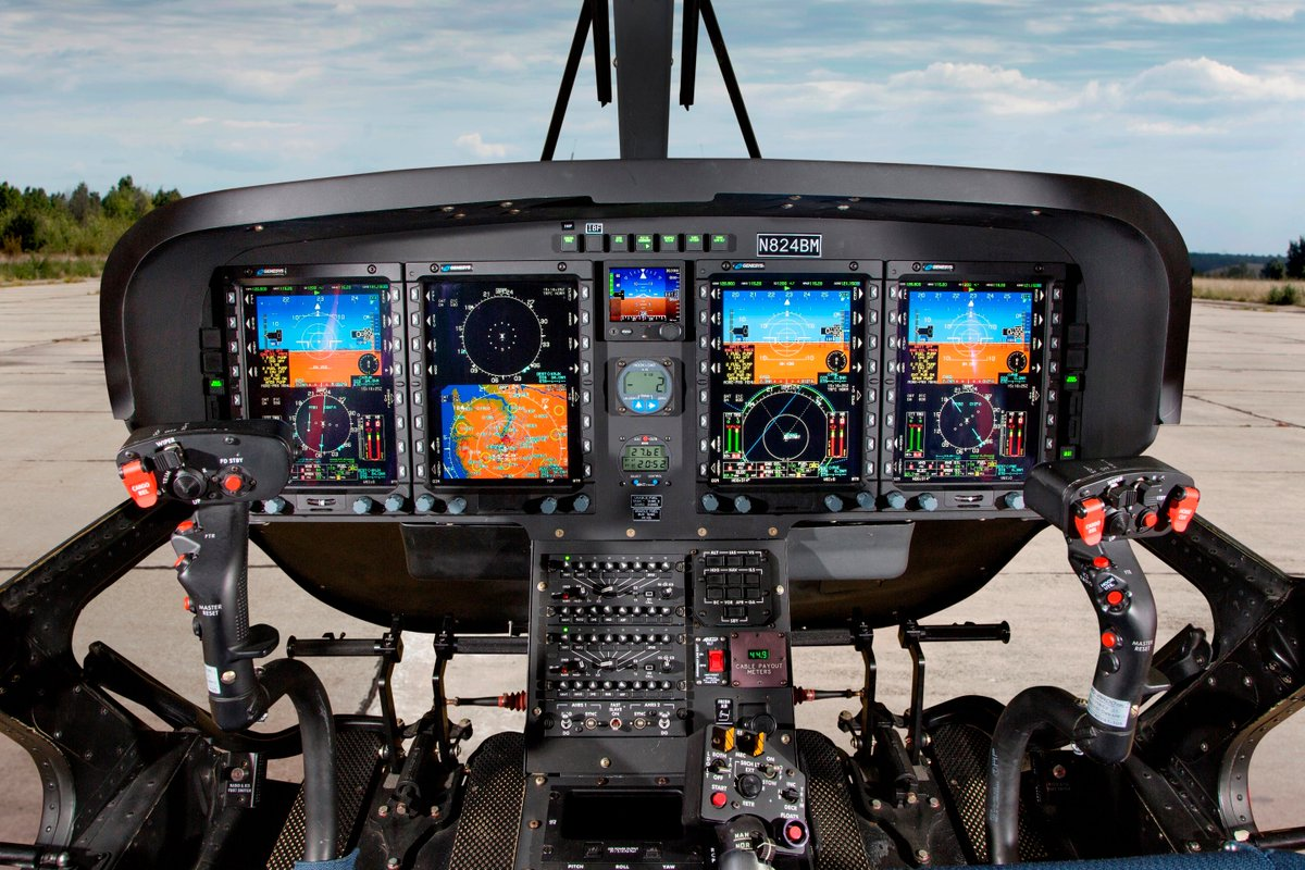 The newly #IFR certified single-engine #TH119 is the ideal platform to train #Canada's future military #helicopter #pilots #Leonardo #AdvancedHelicopterTrainer lnrdo.co/32z6sDG