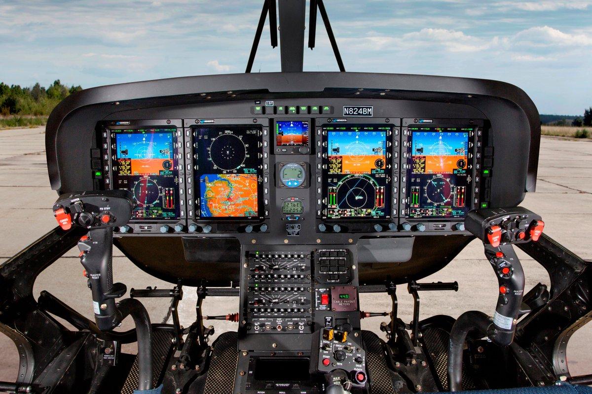 Leonardo TH-119 Cockpit