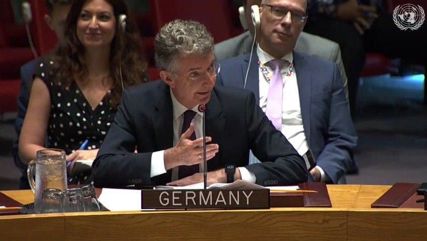 @GermanyUN El Proceso de Paz en #Colombia realmente sirve como fuente de inspiración para todos a nivel internacional que tienen que enfrentarse al conflicto. @GermanyUN