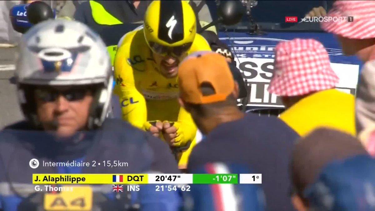 Julian Alaphilippe wint verrassend de tijdrit in de Tour de France 2019