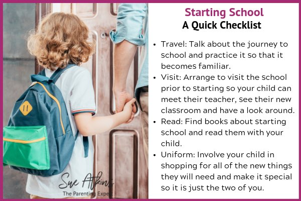The Sue Atkins #StartingSchool Bundle Special Offer – get both of Sue's Starting School Guides / Checklists together for a reduced price 👉 sueatkinsparentingcoach.com/product/the-su… #parenting #school