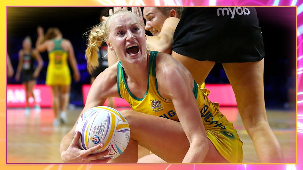 Australia beat NZ by the smallest of margins to finish top of their group.Can they repeat the performance against South Africa?Centre pass: 11.15am on @BBCiPlayer Watch: https://bbc.in/2Lv90gQ#BBCNetball #NWC2019