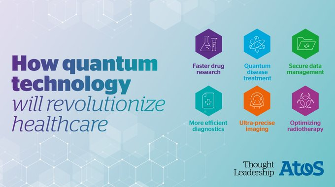 Discover how #quantum technologies will revolutionize #healthcare - Check out our experts'...