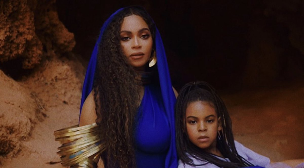 Beyoncé and her only competition.